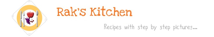 Rak's Kitchen...indian recipes with step by step pictures