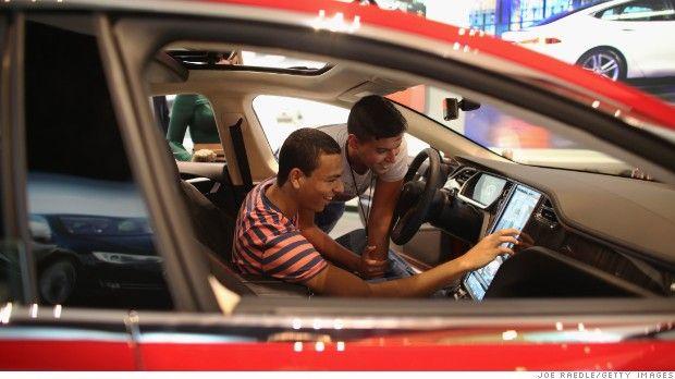 Tesla sales hit new record