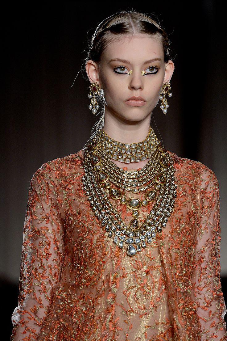 @MarchesaFashion #nyfw: Fashion, Marchesa Spring, 2013 Rtw, Marchesa 2013, Jewellery, Jewelry, Spring 2013, Necklace