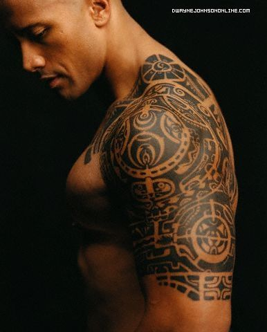 Only reason I'm going to Wrestlemania with the Hubby = Dwayne Johnson. YESSSSSS! :D