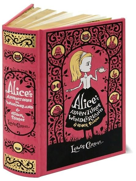 Alice's Adventures in Wonderland and Other Stories (Barnes  Noble Leatherbound Classics Series)