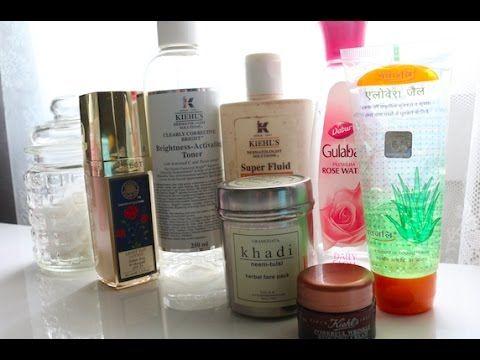 Skin Care Routine - Kiehl's, Rose Water, Aloe, Forrest Essentials