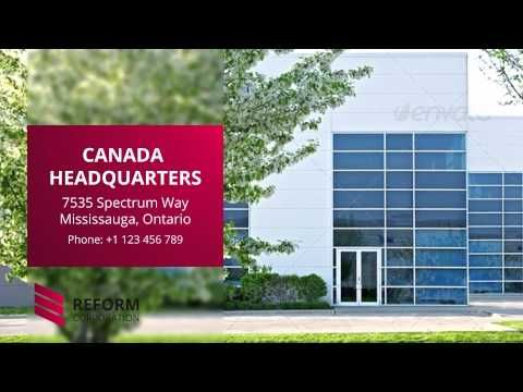 After Effects Template: Reform Corporate Presentation - YouTube