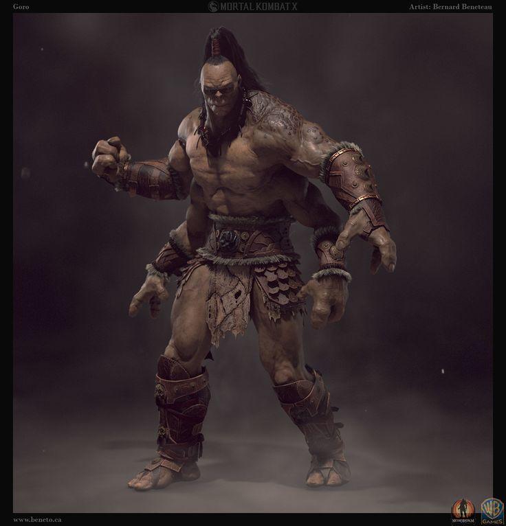 ArtStation - Mortal Kombat x - Goro 2, Bernard Beneteau