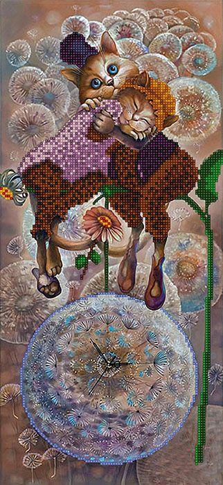 """Orlis.com.ua - эксклюзивные схемы для вышивки бисером, полная вышивка бисером, вышивка бисером по кругу, вышивка картин, принты для вышивки лентами - Рисунок - схема на ткани для вышивания бисером - по мотиву картины Надежды Соколовой """"Свидание"""""""