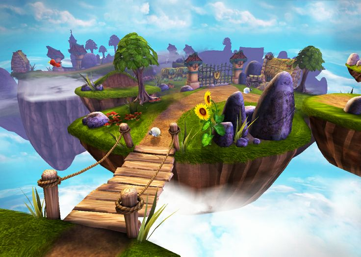 Amazing cool environment from Spyro!