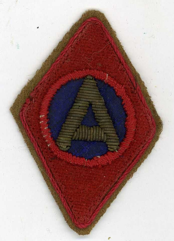 US WWI 5th Division Army of Occupation Shoulder Patch