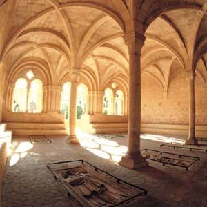 Sala Capitular del Monestir de Santes Creus