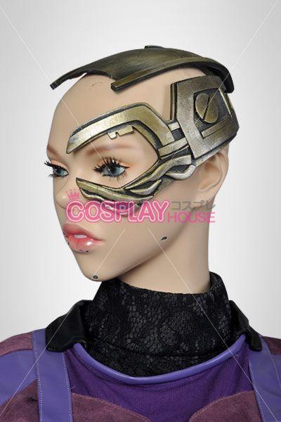 Marvel Comics Cosplay Prop -- Guardians of the Galaxy - Nebula Head Gear Version 01 #guardiansofthegalaxy #nebula