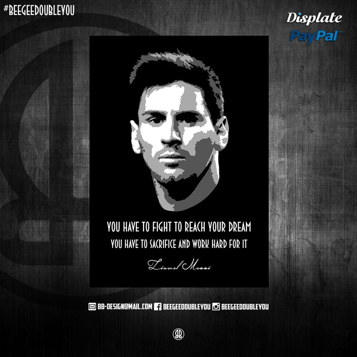 Lionel Messi By Beegeedoubleyou