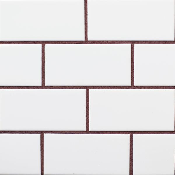 The Power Of Grout White Tiles Black Grout White Brick Tiles White Kitchen Tiles