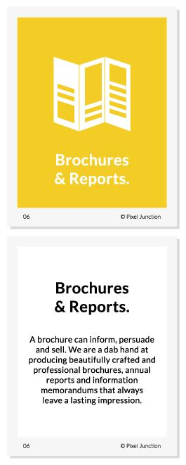 #Brochures #Reports #Design