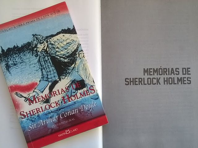 Entre Frases e Palavras: Memórias de Sherlock Holmes - Arthur Conan Doyle