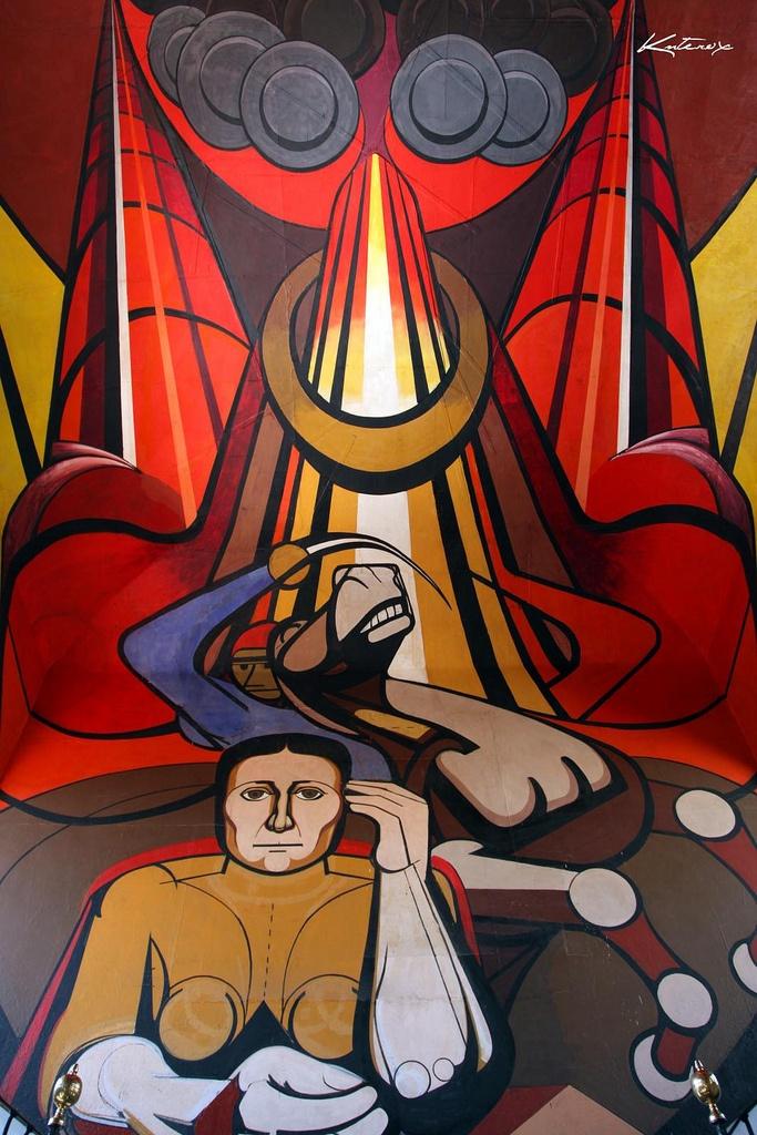 127 best david alfaro siqueiros images on pinterest for David alfaro siqueiros mural tropical america