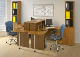 Мебель для персонала: офисные столы и шкафы, купить любую мебель для сотрудников