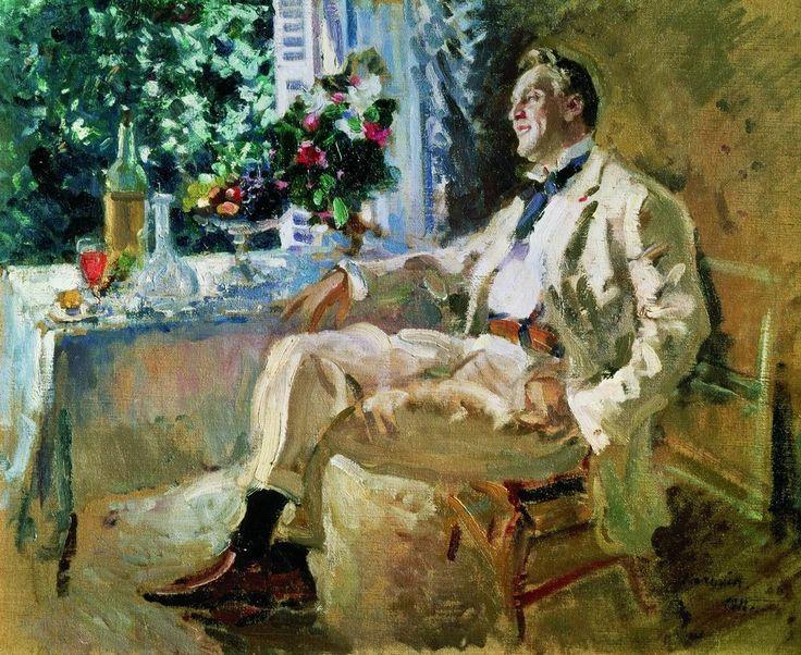 Константин Коровин.- Портрет Ф.И.Шаляпина. 1911