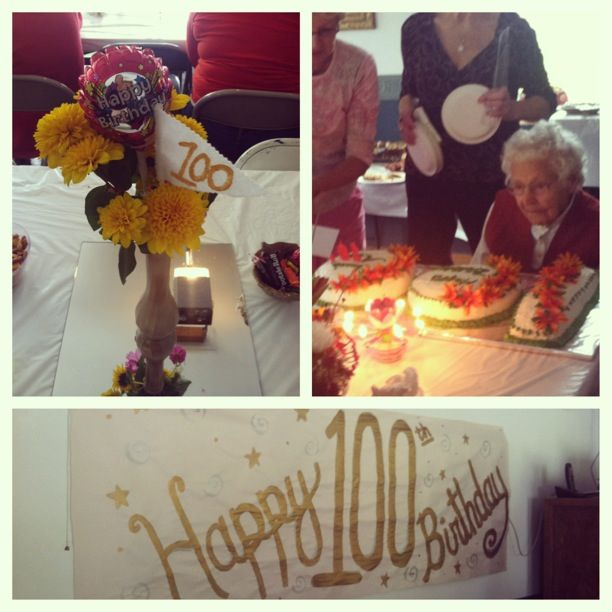 100th birthday party crafts by kathryn pinterest for 100th birthday decoration ideas