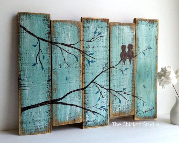 Green Wall Art 25+ best reclaimed wood art ideas on pinterest | pallet wall art