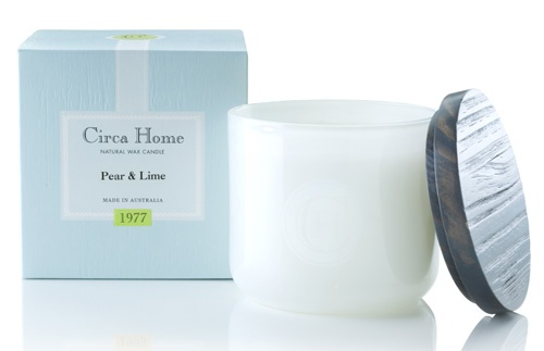 Circa Home - Pear & Lime Candle - Bought this today! My house smells A-MAZING!