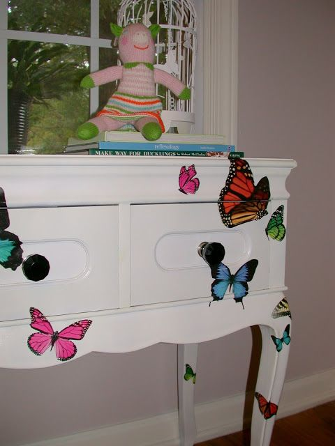 the HUNTED INTERIOR: Butterfly Nightstand