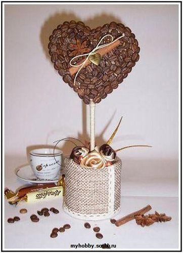 Кофейное деревце - Подарки своими руками