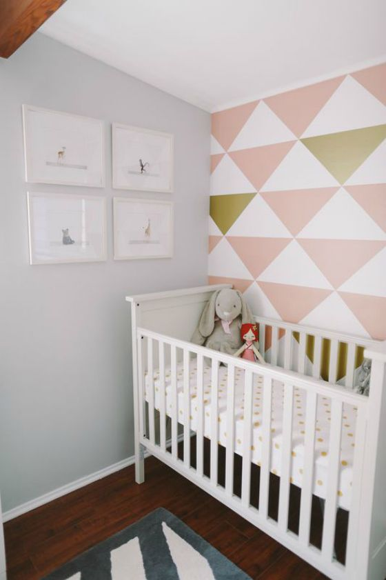 Project Nursery - Geometric Wall Decals