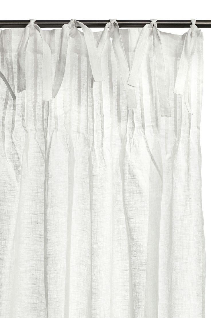 Linen voile curtains by Himla