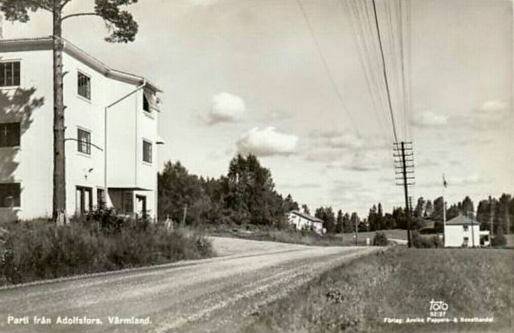 Eda kommun Köla Adolfsfors  1970-talet utg Arvika Pappers og Konsthandel