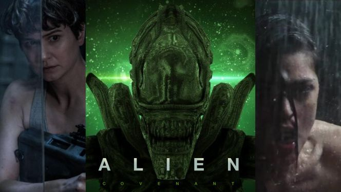 """They recently published the very first poster for the movie, which boasted the very simple tagline ""run.""   #alien #covenant #trailer #ridleyscott #michaelfassbender #noomirapace https://ps4pro.eu/2016/12/25/the-alien-covenant-trailer-is-here/"