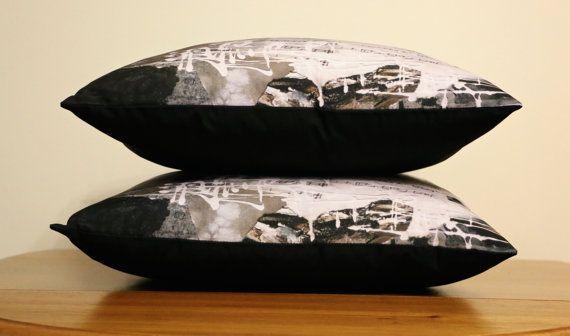 Beautiful Music: Art Cushion | Painting Design | Handmade $65 http://coloursofhope.com.au/store?category=cushion
