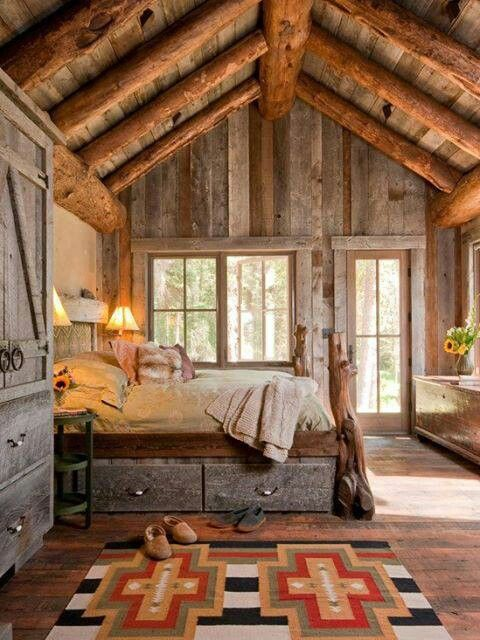 Barn wood with timbers