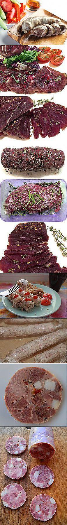 Домашние колбасы, сало, грудинка, копчение. | Рецепты простой и вкусной еды на Постиле | Постила