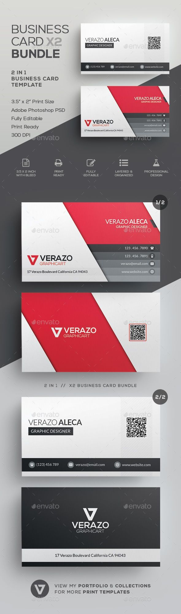 12568 best business card maker images on pinterest business business card bundle 31 by verazo need more high quality business card view my business magicingreecefo Gallery