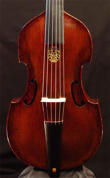 Why f Holes? Viol by Jakob Stainer circa 1671 with sound holes that are not f holes