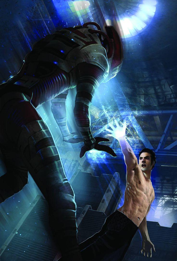 Mass Effect: Foundation #4 (Virgin Cover) #DarkHorse #MassEffectFoundation (Cover Artist: Michael Atiyeh & Benhamin Carre) On Sale: 10/23/2013