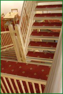 Yellow Pine Stairs