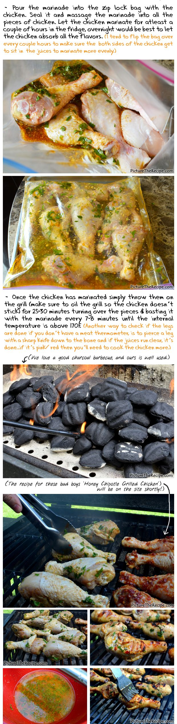 Grilled Beer Marinated Chicken Recipe- Part2