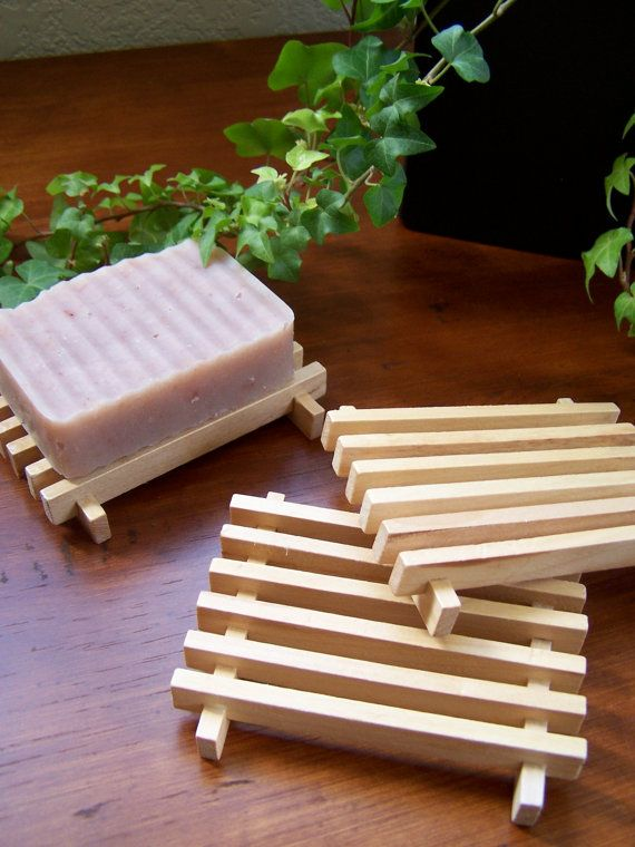 Wooden Bar Soap Tray  1 Pack by BlackHillsSoapCo on Etsy, $2.75