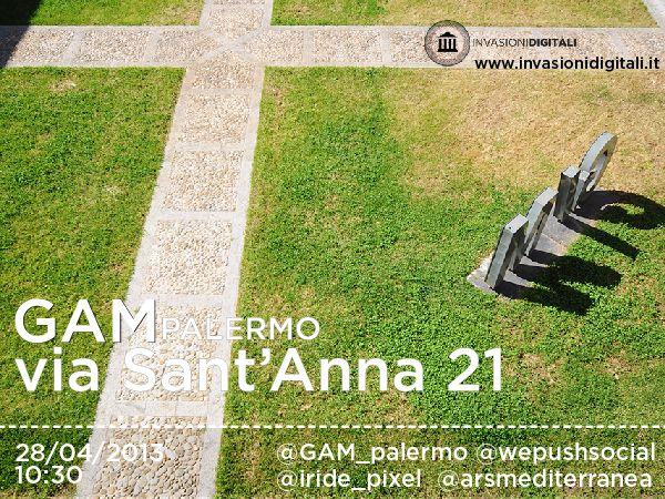 Venite a invadere la GAM di #Palermo! http://gaminvasion.eventbrite.it #GAMinvasion #invasionidigitali #liberiamolacultura