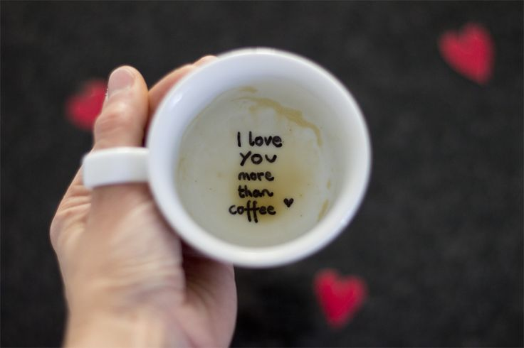 Surprise your Valentine with a hidden love message in a cup.