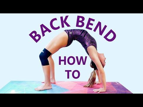 gymnastics at home backbend challenge flexibility