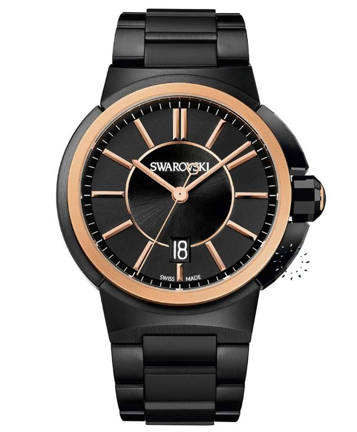 SWAROVSKI Piazza Grande Rose Gold Stainless Steel Τιμή: 749€ Τιμή Προσφοράς: 599€ http://www.oroloi.gr/product_info.php?products_id=34173