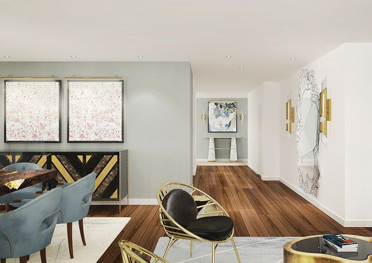 Get inspired for your house design by Covet House apartement.