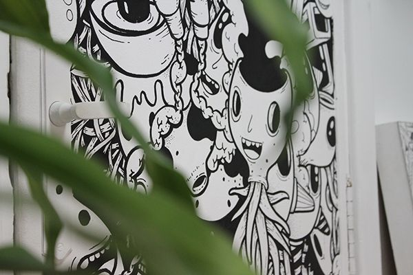 Wall and car painting compilation by oscar llorens via behance