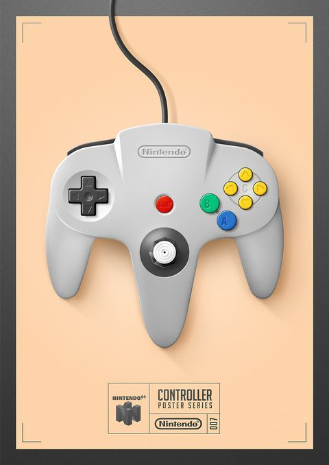 Fan-made posters showcase classic controllers | Games | Video game