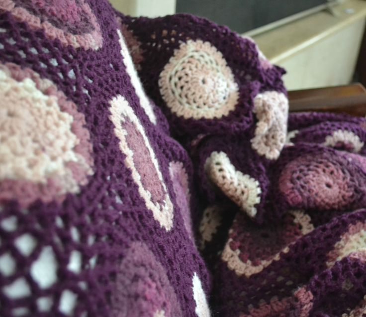 Crochet Blanket  ~Made by Ioanna