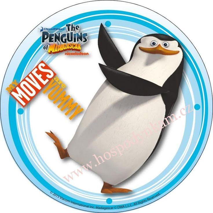 Jedlý papír Tučňáci z Madagascaru 2