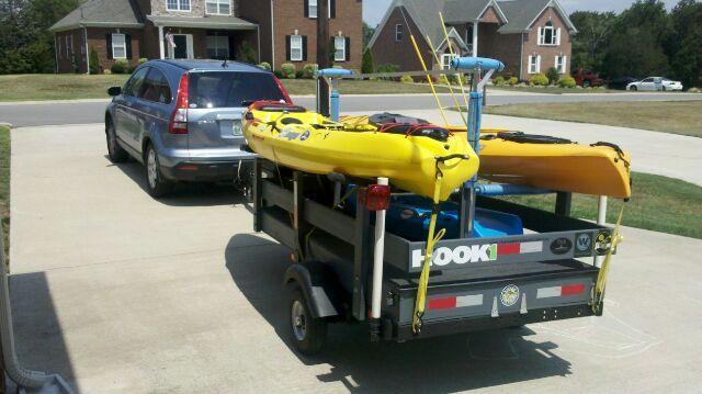 Kayak Fishing Forum :: Topic: your kayak trailer setup (1/2)