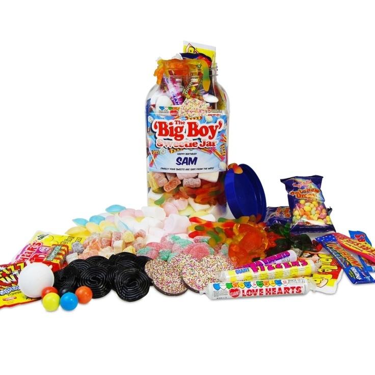 The 'Big Boy' Retro Sweet Jar £24.99 - The Wedding Gift Company
