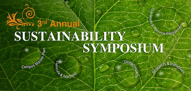 Essays and presentations from the 3rd Annual Sustainability Symposium at The University of Texas at Austin (Sep. 21, 2012) are now available online.